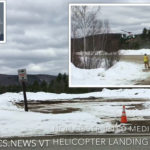 Medivac Chopper Aborts Obstructed Ludlow Landing Zone for Safe Landing Lot