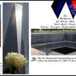 THE ANNIVERSARY OF THE SEPTEMBER 11 ATTACKS
