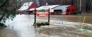 VT Roads, Businesses Closed due to Flooding