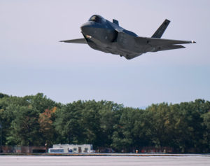 Vermont Air National Guard F-35 Flys