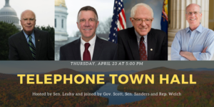 Tele-Town Hall Update On The Coronavirus In Vermont